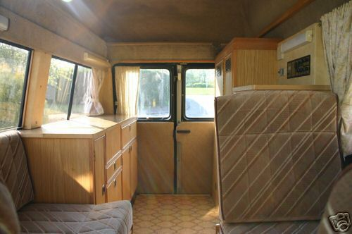 Traditional Camper Van Interior