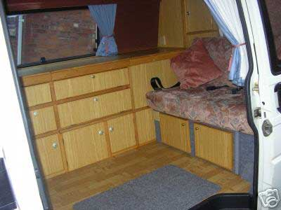 A Spacious VW Style Conversion In Wood
