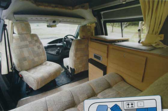Conversion Furniture And Fittings Campervan Life