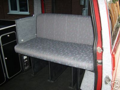 Example Camper Van Interiors A VW T4 With Stylish Black Interior