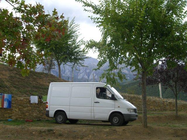 Stealth camper vans