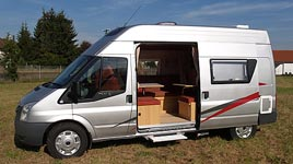 Ford Transit Camper Vans, Motorhomes & Vans