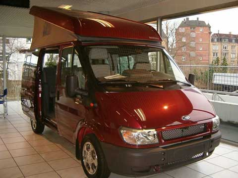 Westfalia Ford Transit Camper Van Conversion