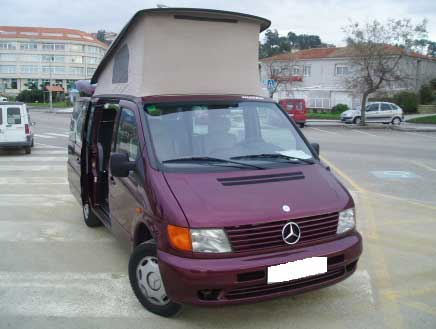 Westfalia Mercedes Vito Camper Van Conversion