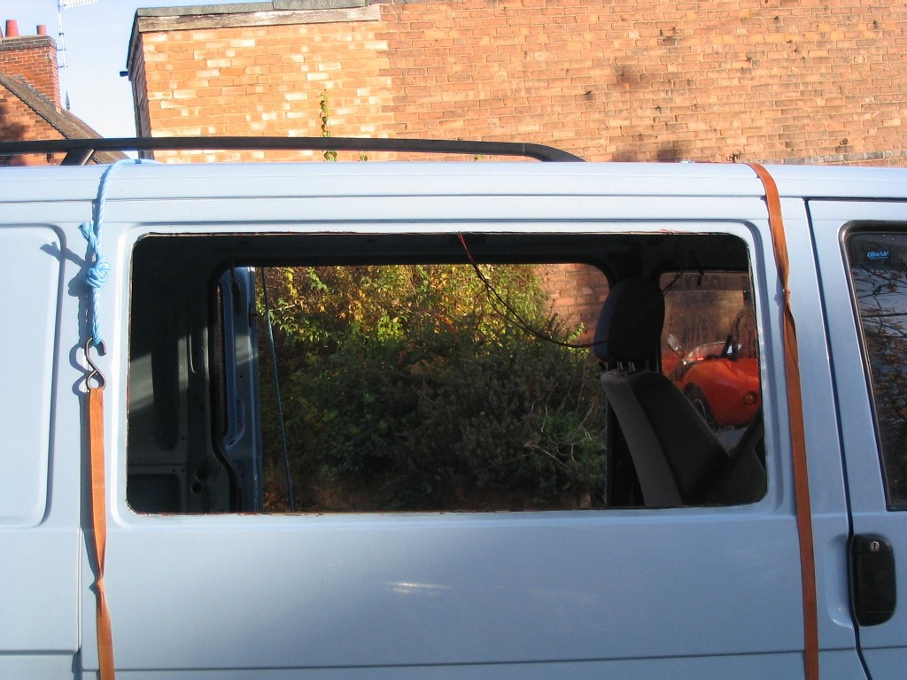 Fitting Windows In A Camper Van Conversion