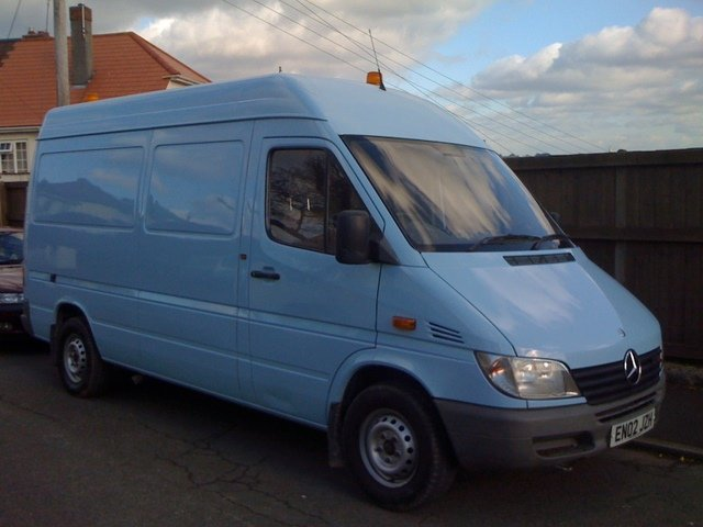 Using an ex Transco or Other Works van for a Campervan Conversion