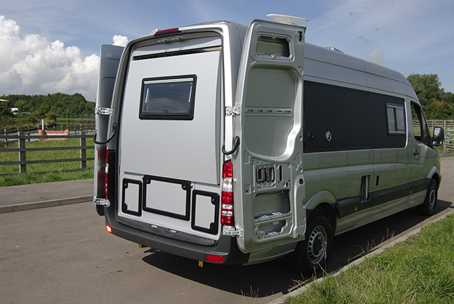 Chameleon Launch New Motorhome With Slide Out Rear Section