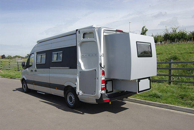 Chameleon launch new motorhome with slide-out rear section to sleep 4 ...