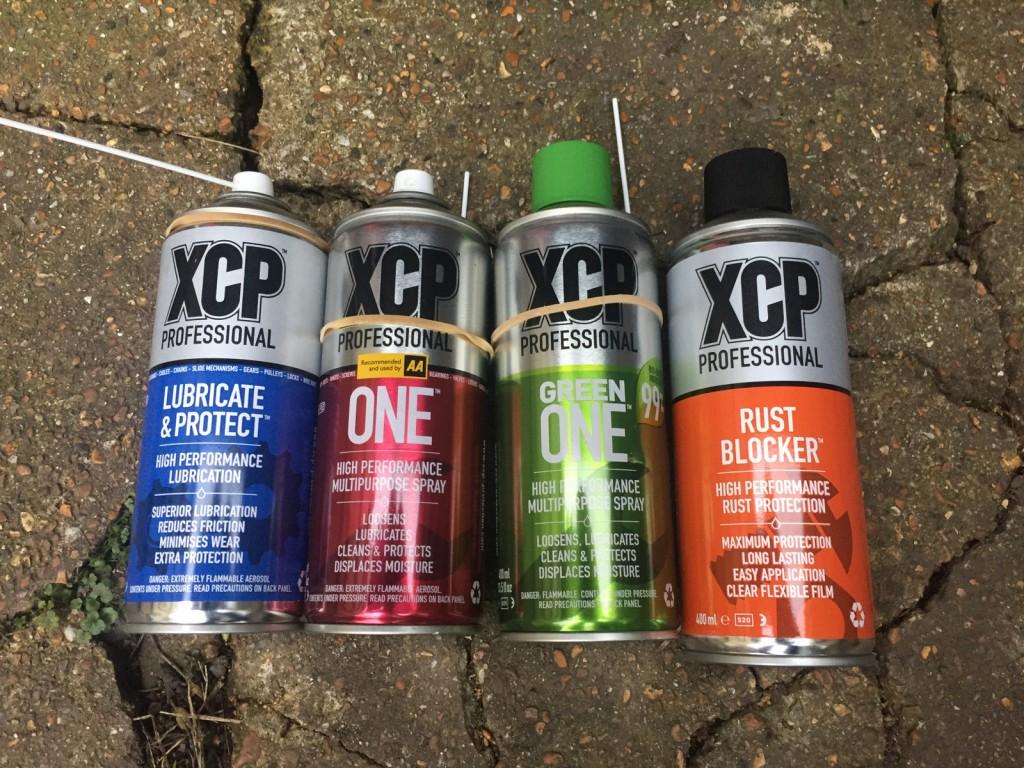 XCP Pro sprays