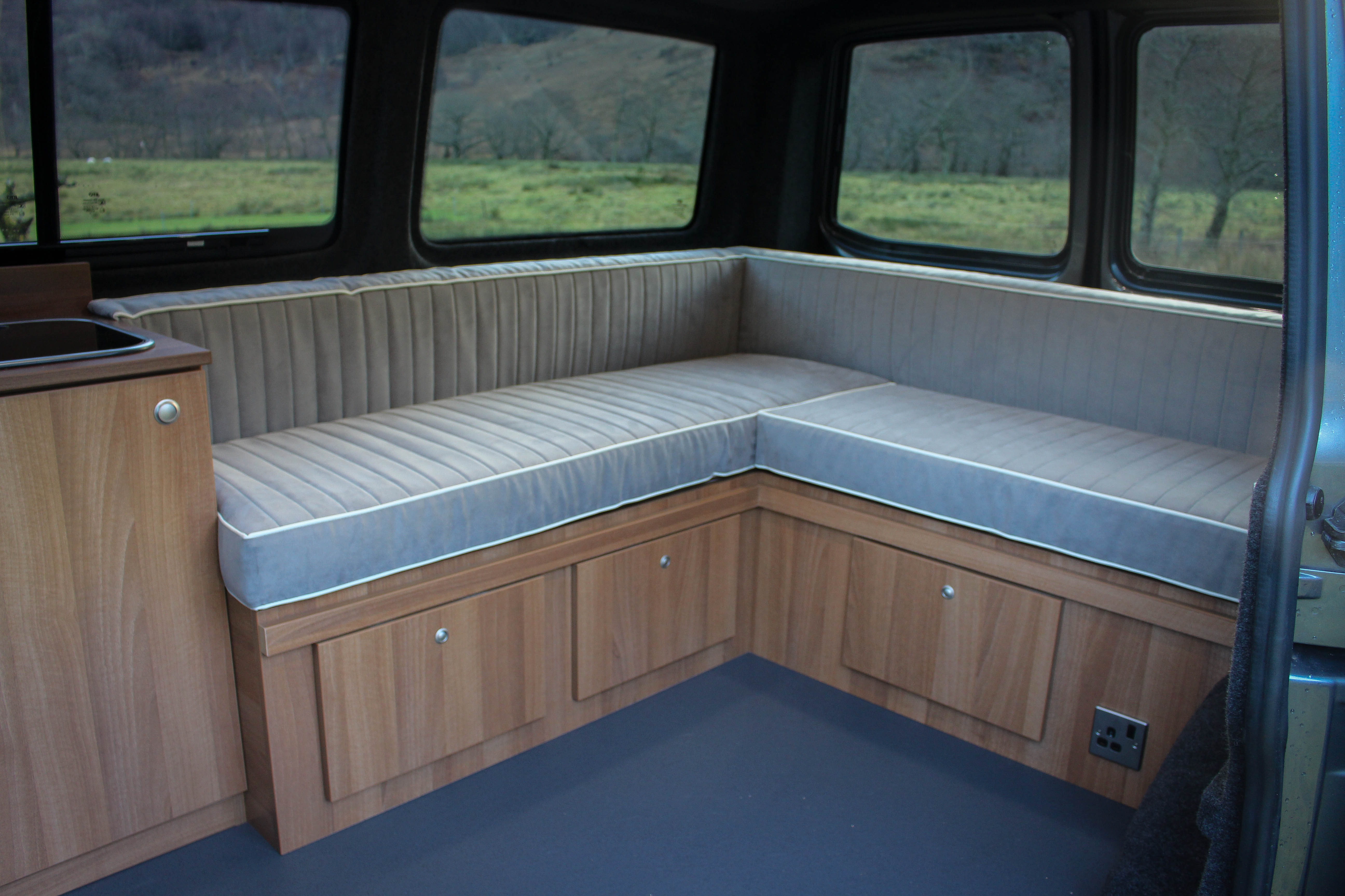 Camper Van Conversion Example Layouts Campervan Life