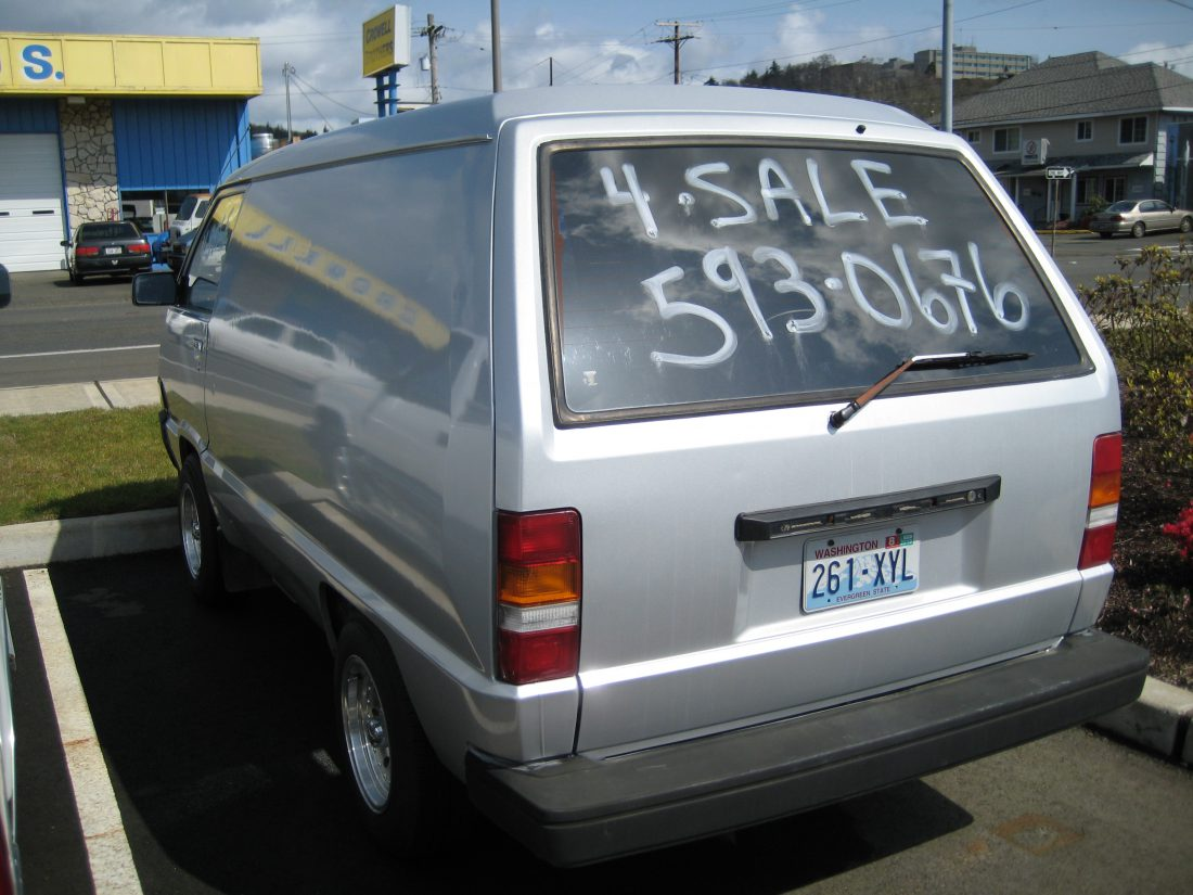 Buying a Base Van
