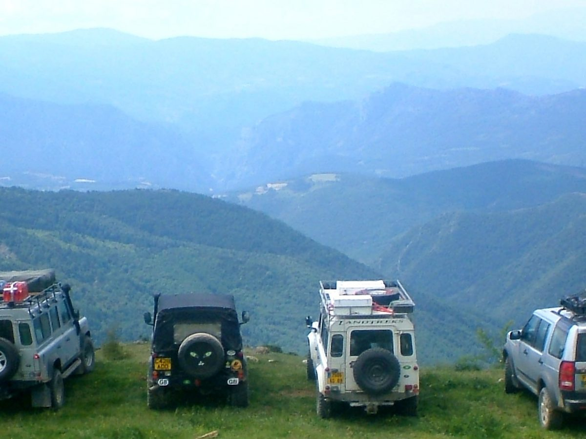 Tag along with Landtreks off-road trips