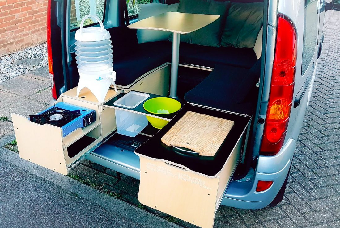 campal.co.uk – a great looking system that turn cars into campervans easily