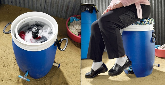 Pedal-Powered Washing Machine that Needs No Electricity