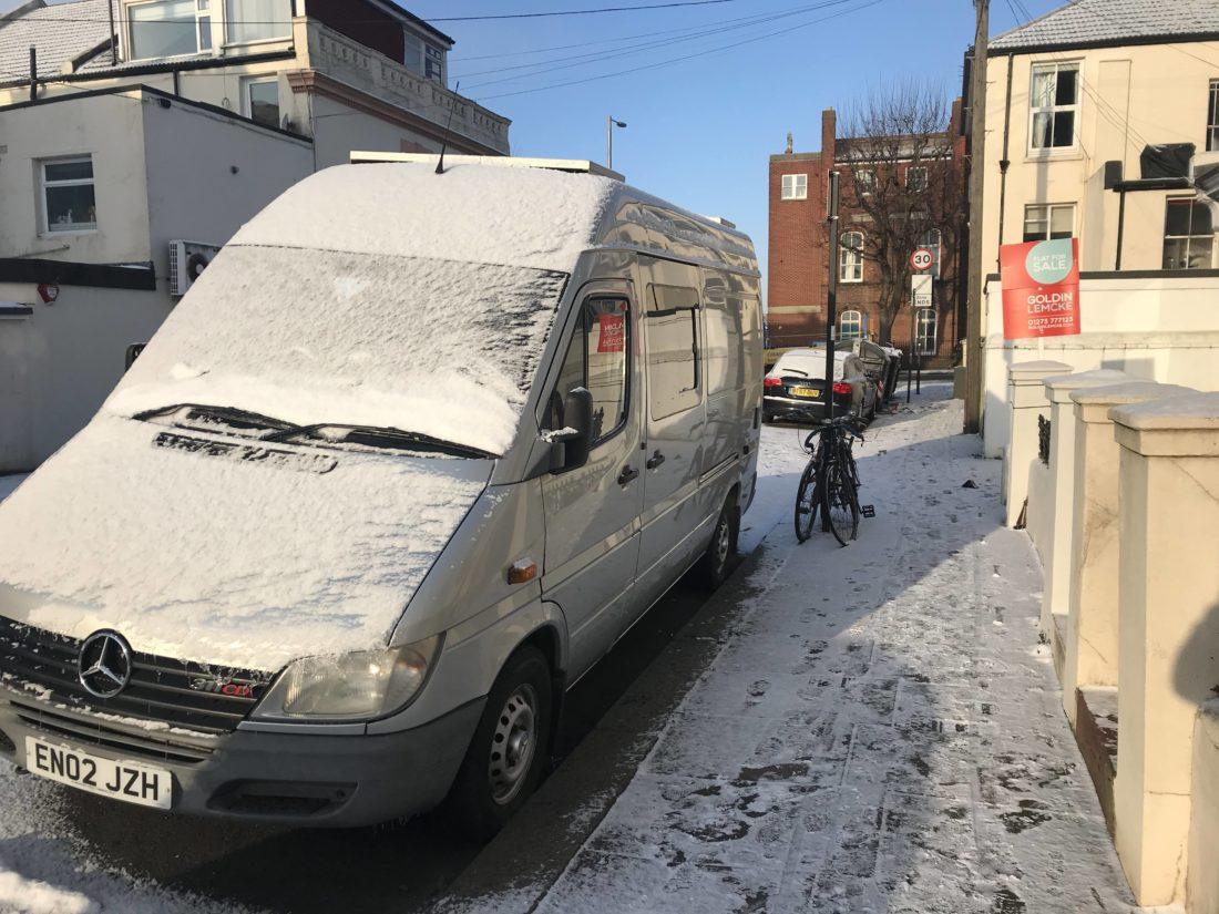 Camper Van & Motorhome Winter Storage Tips